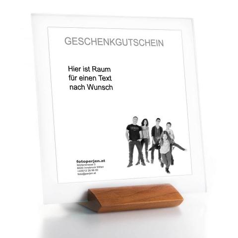 Geschenkgutschein im Designerrahmen